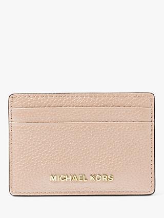 81de248e81d2 MICHAEL Michael Kors Money Pieces Leather Card Holder