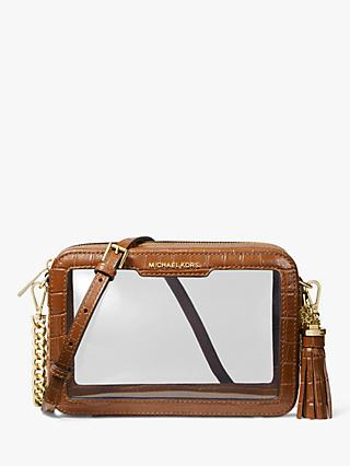 MICHAEL Michael Kors Crossbodies Medium Camera Bag, Chestnut