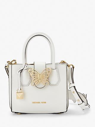 9094476a9e04 MICHAEL Michael Kors Mercer Mini Accordion Butterfly Leather Grab Bag