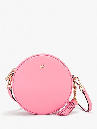 115a77f25958d1 MICHAEL Michael Kors Canteen Leather Cross Body Bag