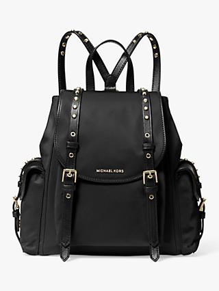 MICHAEL Michael Kors Leila Small Flap Backpack, Black