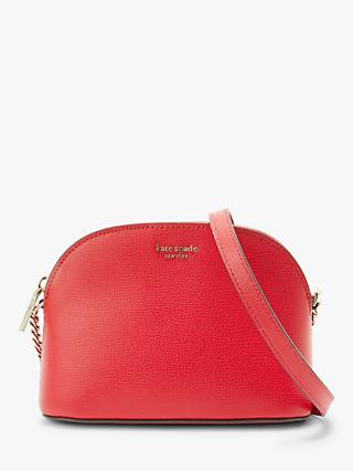 50f641e925 kate spade new york Sylvia Leather Small Dome Cross Body Bag