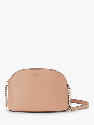 kate spade new york Sylvia Leather Small Dome Cross Body Bag 47159174d3