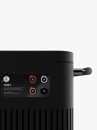 Buy Everdure By Heston Blumenthal HUB Electric Ignition Charcoal BBQ & Cover, Black Online at johnlewis.com