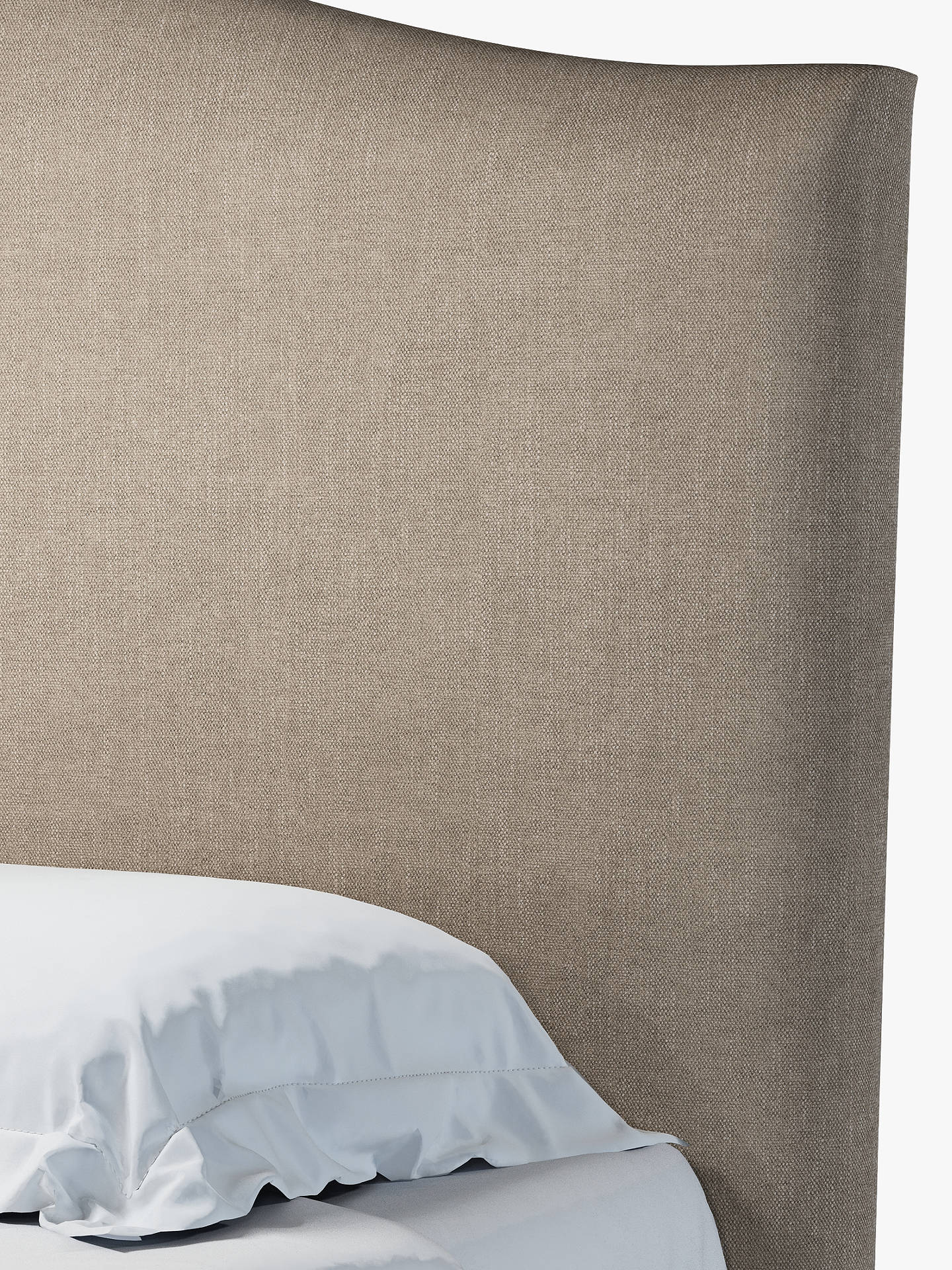 Buy John Lewis & Partners Charlotte Ottoman Storage Upholstered Bed Frame, Double, Erin Mole Online at johnlewis.com