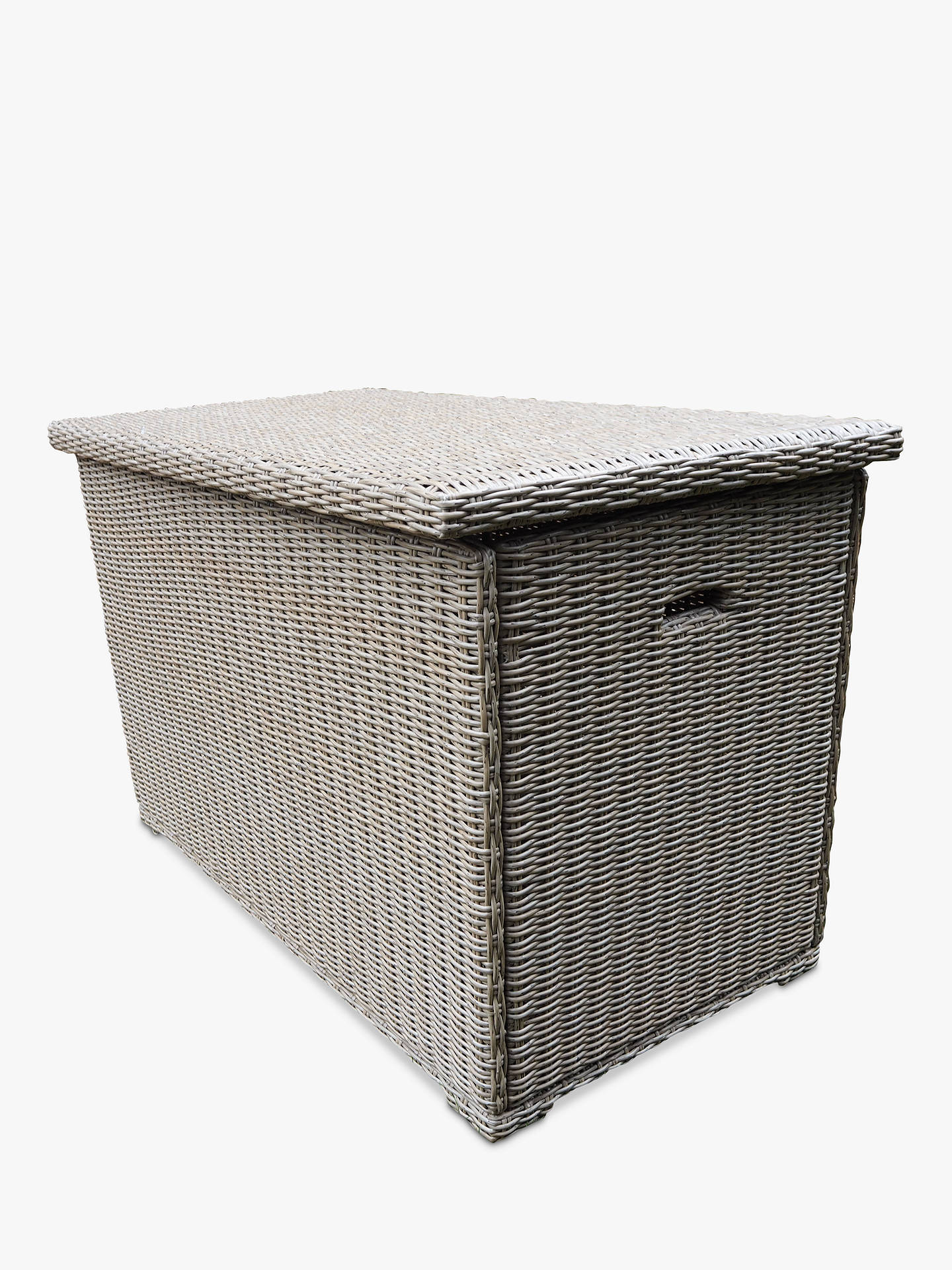 Lg Outdoor Saigon Cushion Storage Box Natural