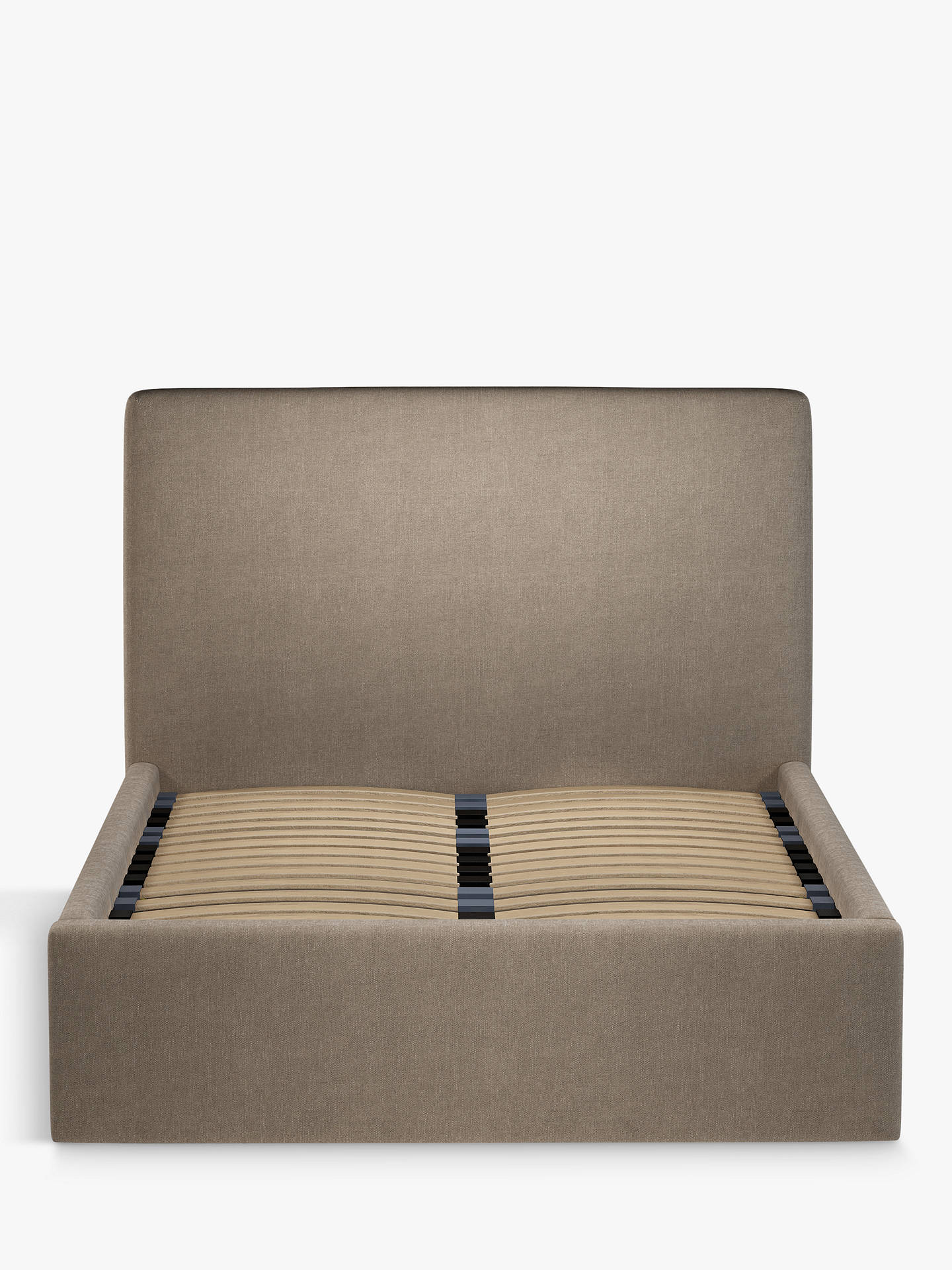 Buy John Lewis & Partners Emily Ottoman Storage Upholstered Bed Frame, Double, Erin Mole Online at johnlewis.com