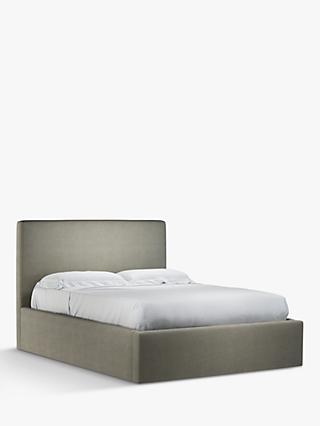 John Lewis & Partners Emily Ottoman Storage Upholstered Bed Frame, King Size