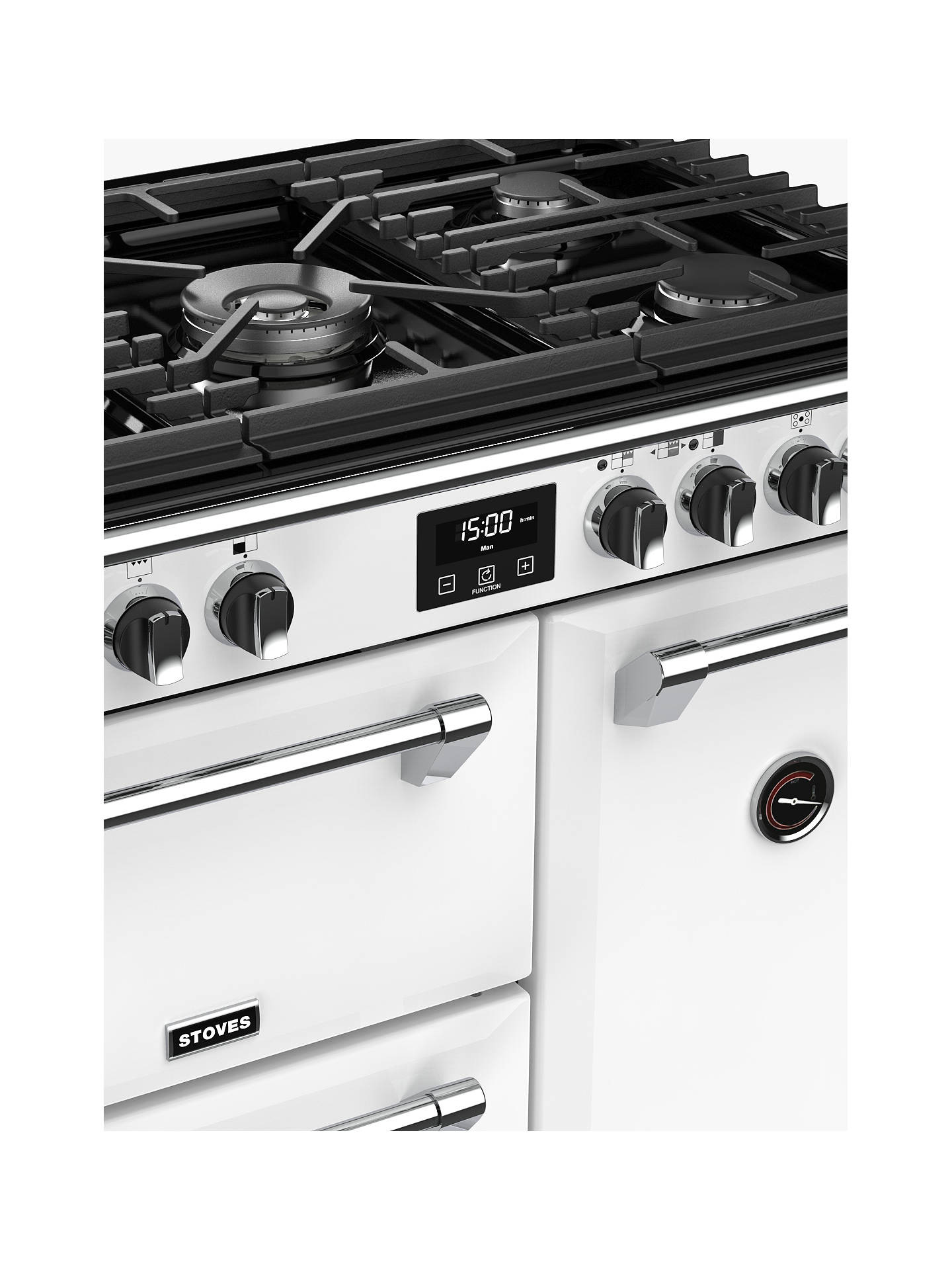 Buy Stoves Richmond Deluxe S900G Gas Range Cooker with Zeus Bluetooth Connected Timer, Icy Brook Online at johnlewis.com