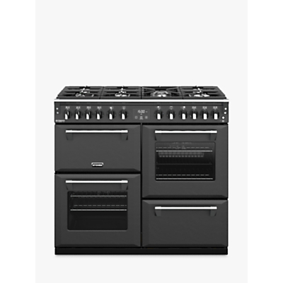 Image of Stoves Richmond Deluxe S1000DF 100cm Dual Fuel Range Cooker, A Energy Rating, Anthracite