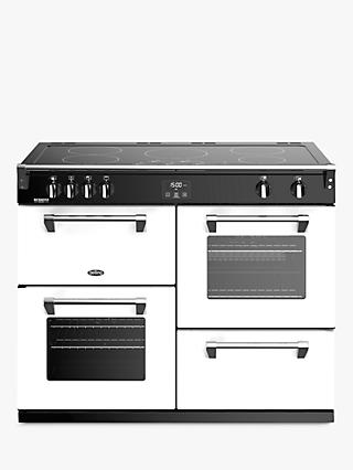 Stoves Richmond Deluxe S1100Ei Induction Range Cooker with Zeus Bluetooth Connected Timer, Hot Jalapeno