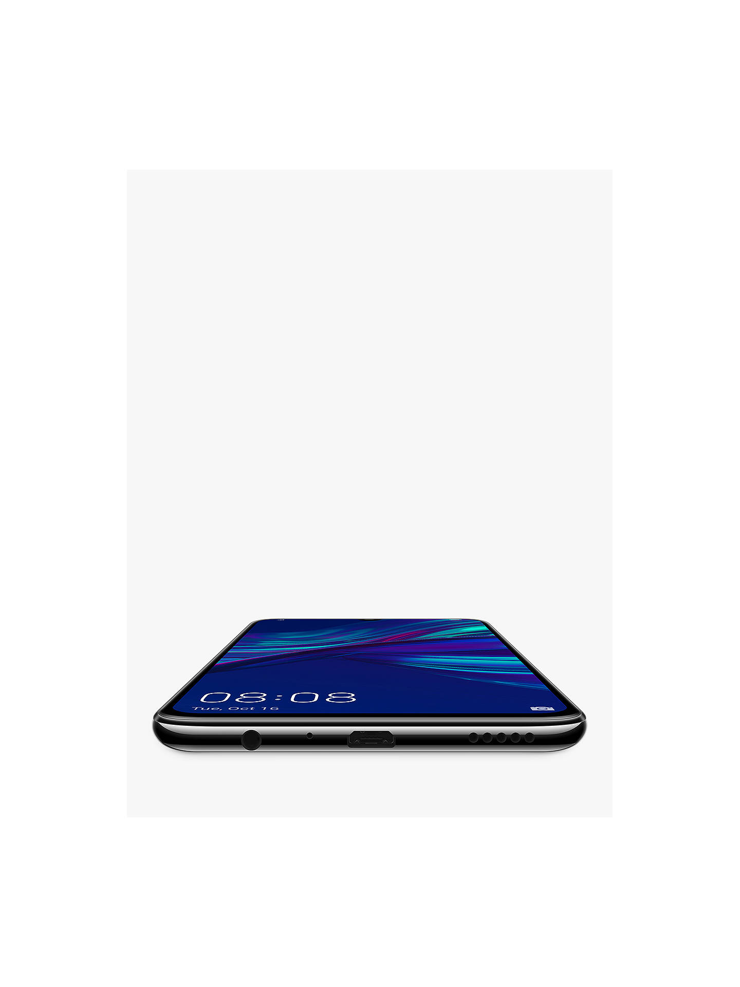 "Huawei P smart 2019 Smartphone, Android, 6 21"", 4G LTE, SIM Free, 64GB,  Black"