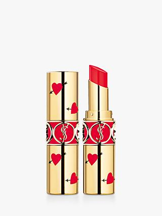 Yves Saint Laurent Rouge Volupté Shine Lipstick Heart & Arrow Limited Edition