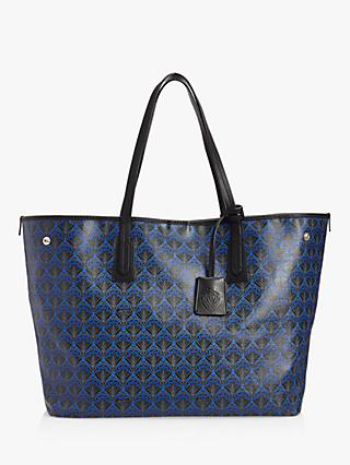Liberty London Iphis Print Large Canvas Marlborough Tote Bag 7800a5821a520