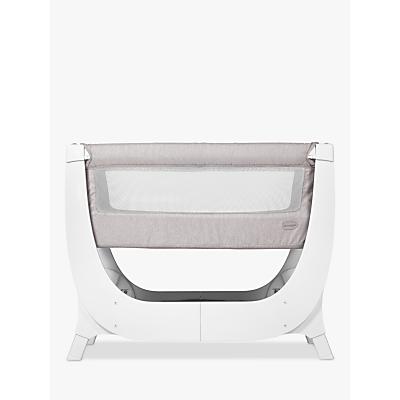 Shnuggle Air Bedside Crib, Stone Grey