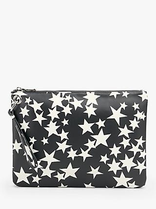 hush Jackson Zip Top Clutch Bag
