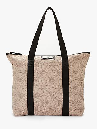 86f223a073 DAY et Day Gweneth Quilted Fan Tote Bag