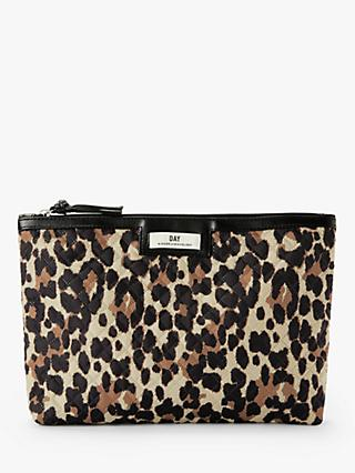 DAY et Gweneth Punch Small Pouch Purse, Leopard