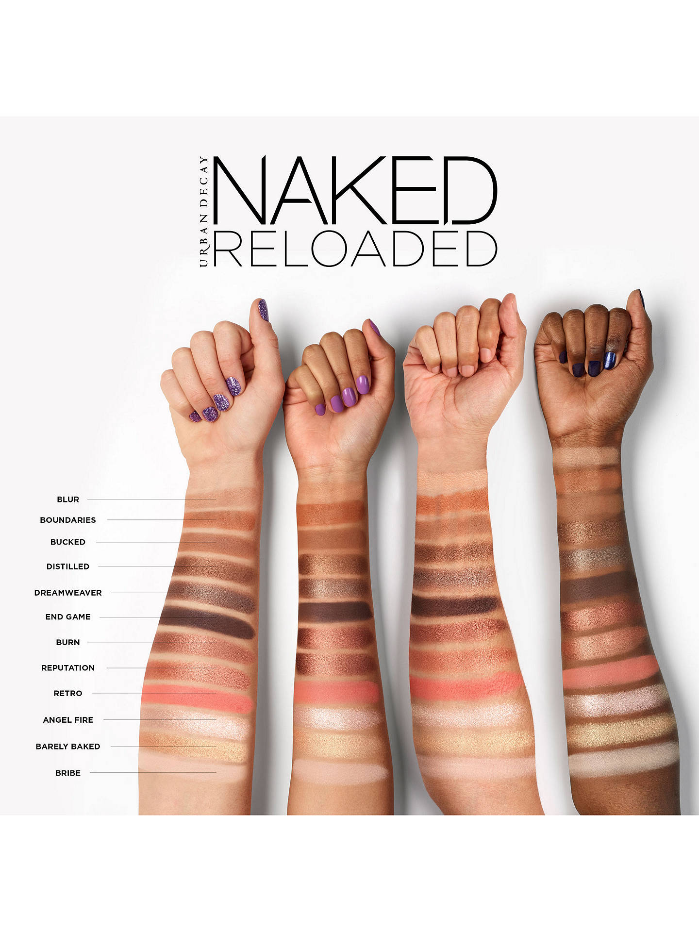 BuyUrban Decay Naked Reloaded Eyeshadow Palette, Multi Online at johnlewis.com
