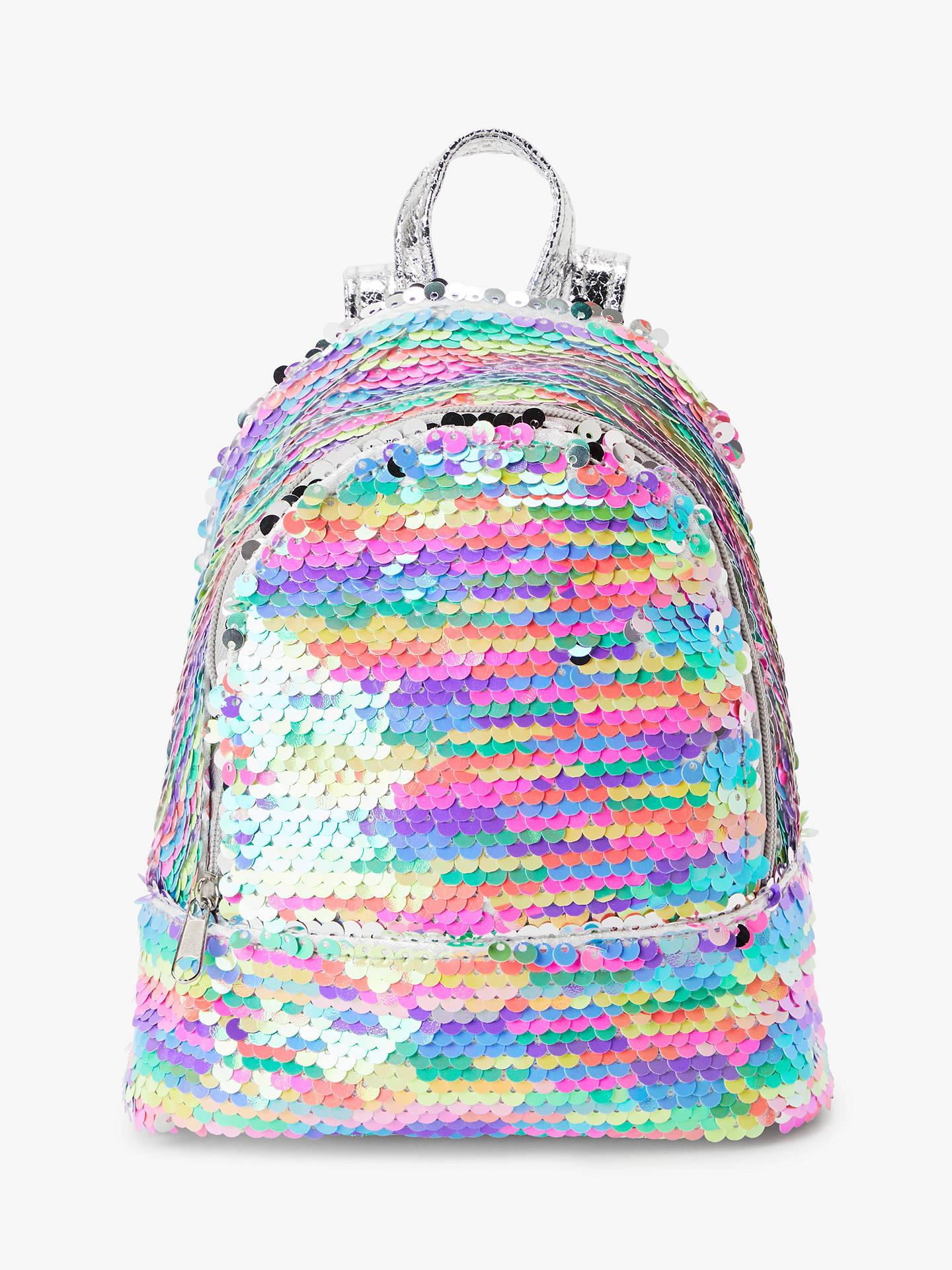 2e3e77165612 John Lewis & Partners Children's Sequin Backpack, Multi