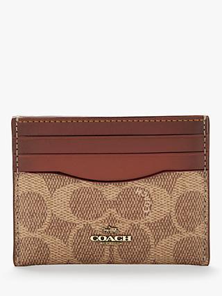 f82929f67ae0 Coach Signature Flat Card Case