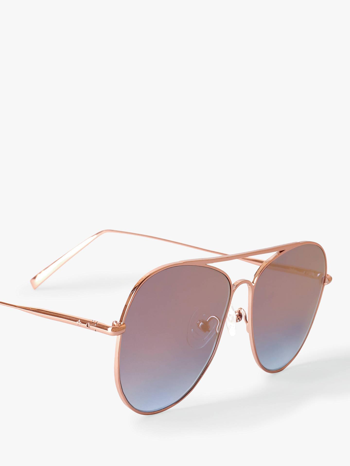 52515b889a ... Buy hush Women s Isla Aviator Sunglasses