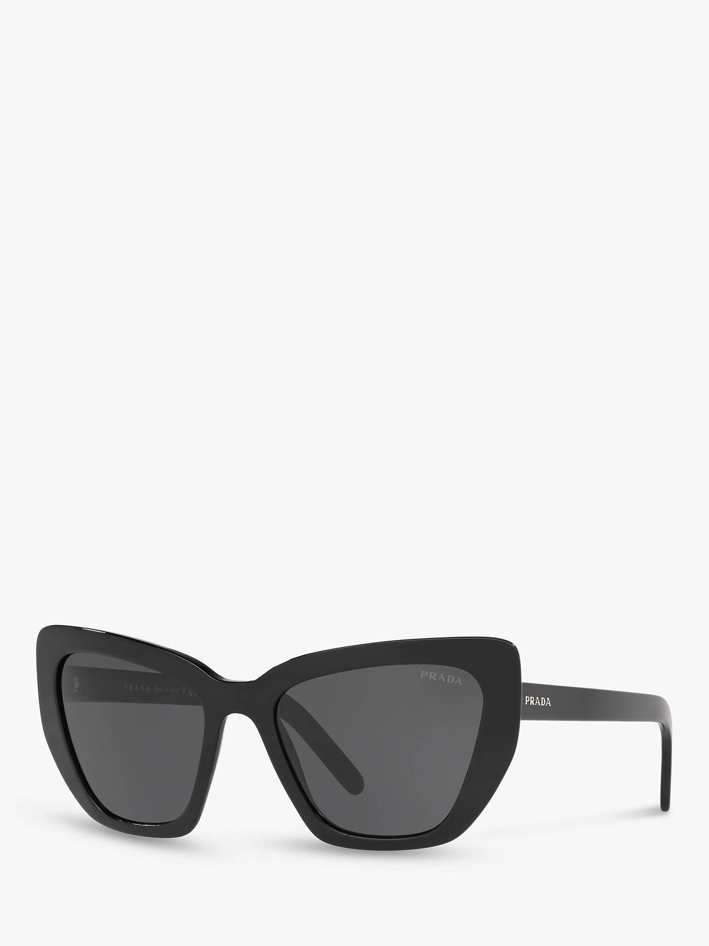 12a4d0cf0901 Prada PR 08VS Women s Cat s Eye Sunglasses at John Lewis   Partners