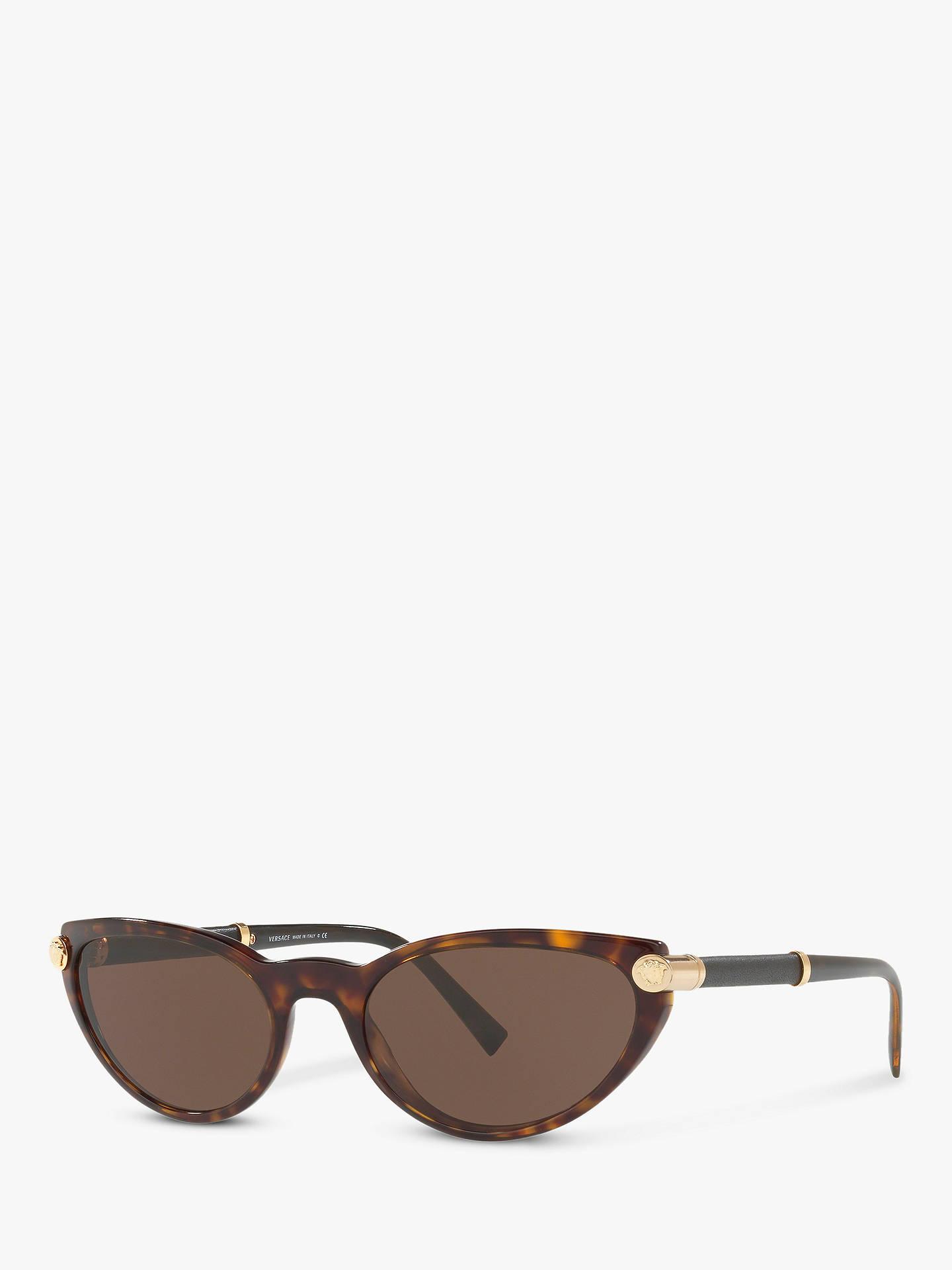 d336d805aa9b Versace VE4365Q Women s Cat s Eye Sunglasses at John Lewis   Partners