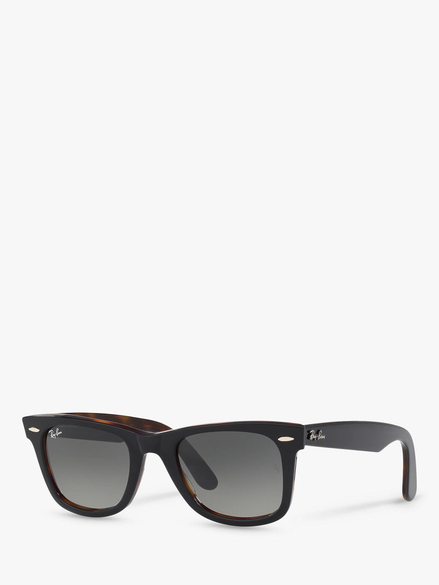 ef1f14d56 Buy Ray-Ban RB2140 Women's Original Wayfarer Sunglasses, Grey/Grey Gradient  Online at ...
