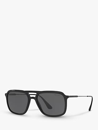 0897c4344119 Prada PR 06VS Men s Square Sunglasses