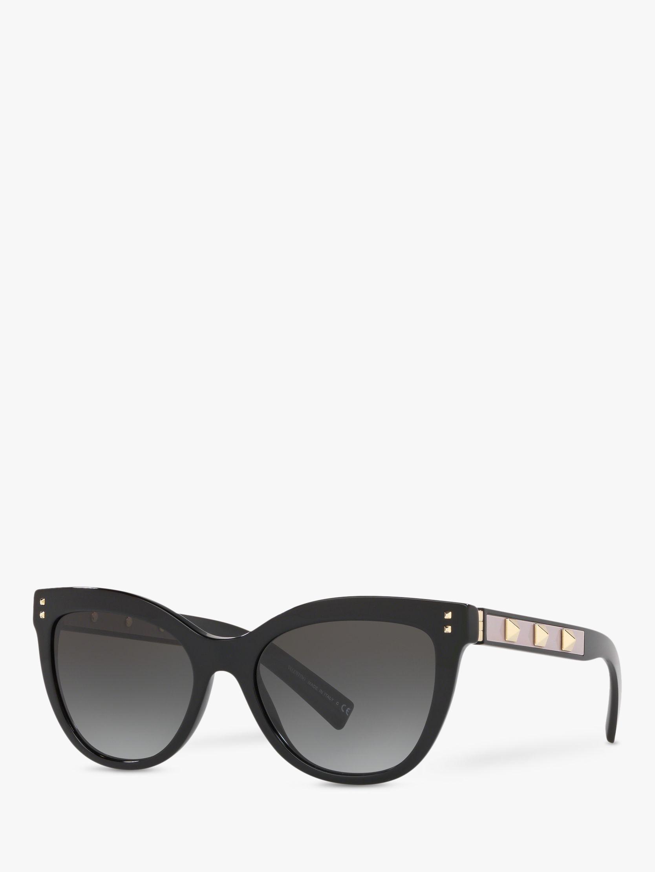 Valentino Valentino VA4049 Women's Studded Cat's Eye Sunglasses