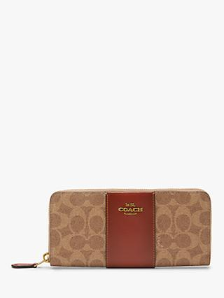 Coach Colour Block Signature Purse