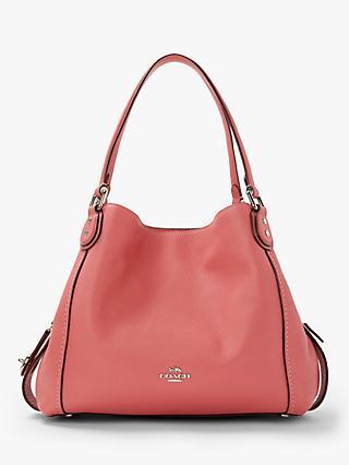 b88b36ff6e9 Coach Edie 31 Polished Pebble Leather Shoulder Bag