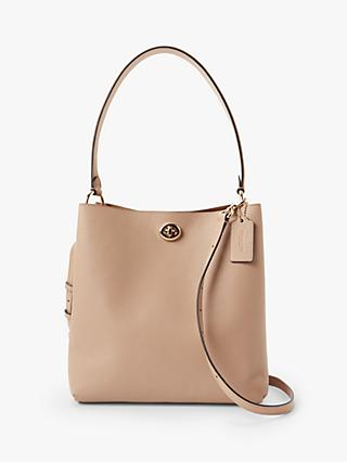 5f41b87611 Coach Charlie Leather Bucket Bag