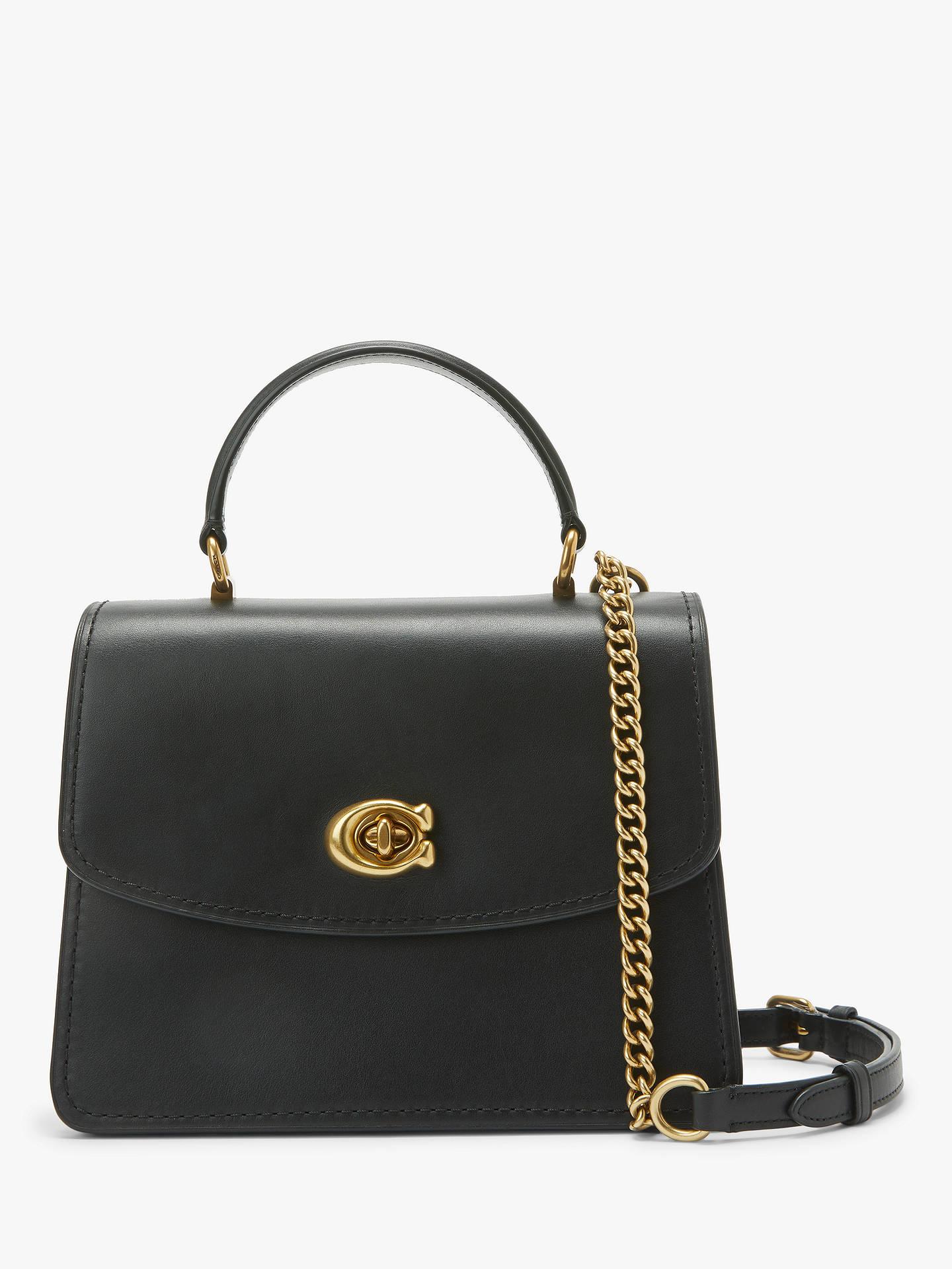 ffa8c82f8a Buy Coach Parker Leather Top Handle Shoulder Bag