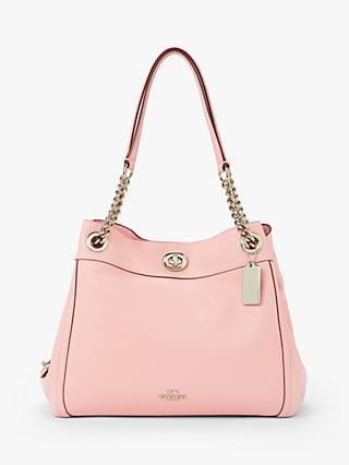 3a7f81c5fa78c Coach Turnlock Edie Leather Shoulder Bag