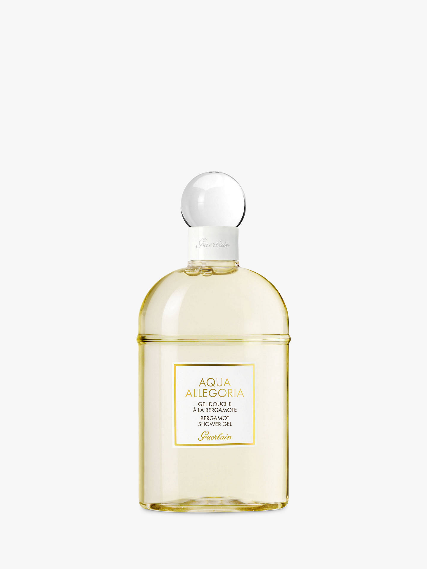 Buy Guerlain Aqua Allegoria Bergamot Shower Gel, 200ml Online at johnlewis.com