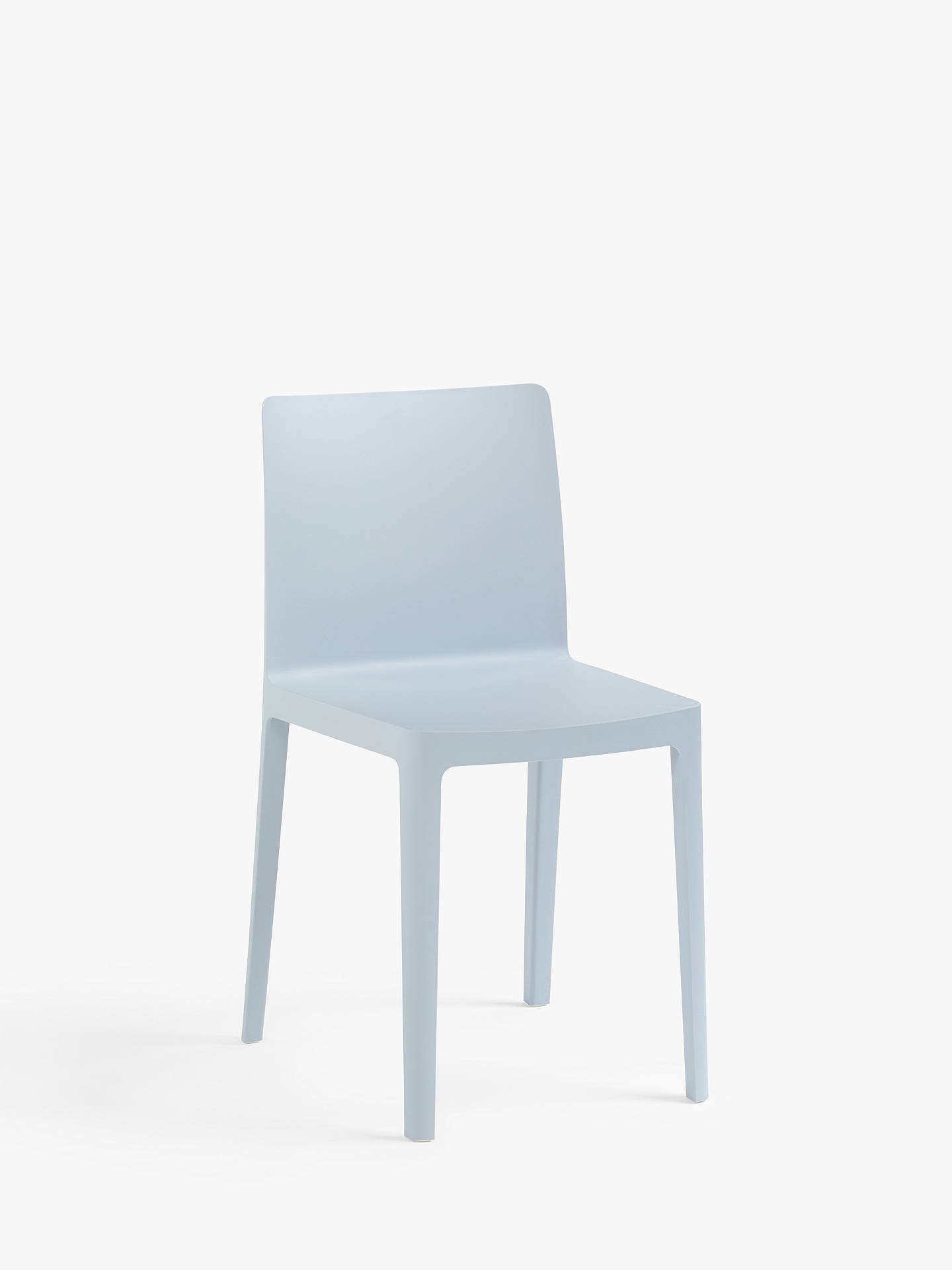 About A Chair Hay.Hay Elementaire Dining Chair Blue