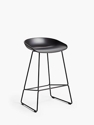 HAY About A Stool AAS38 Bar Stool, Black