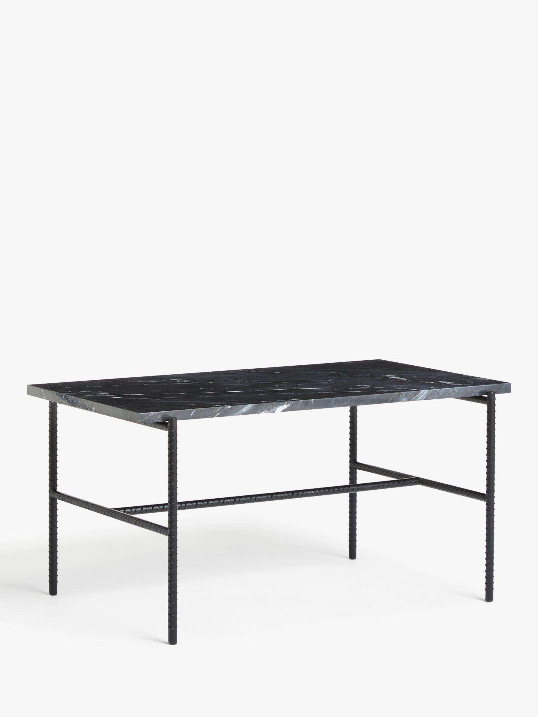 Hay Rebar Side Table.Hay Rebar Marble Coffee Table Black