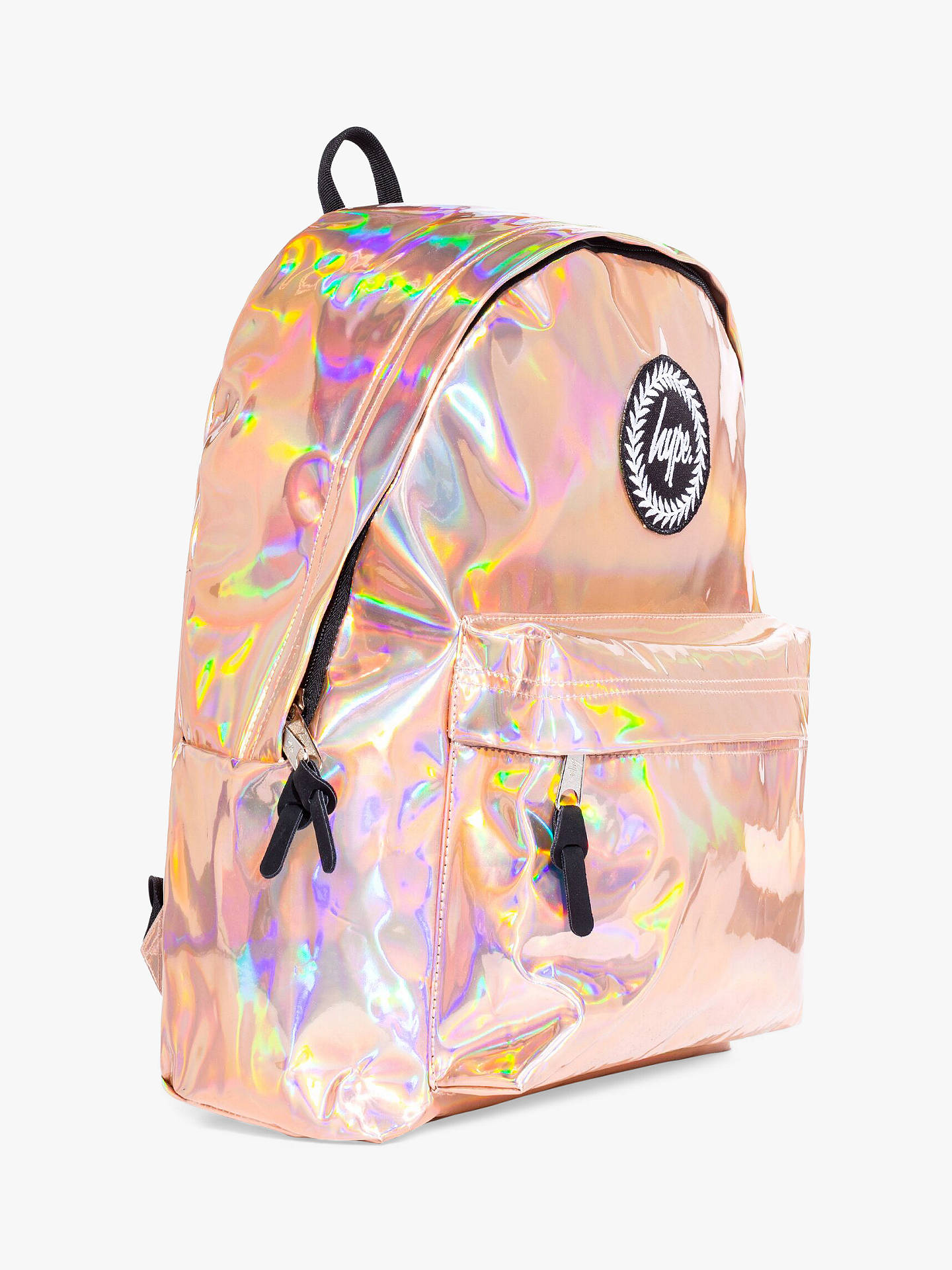 well known good quality buy Hype Holographic Children's Backpack, Rose Gold
