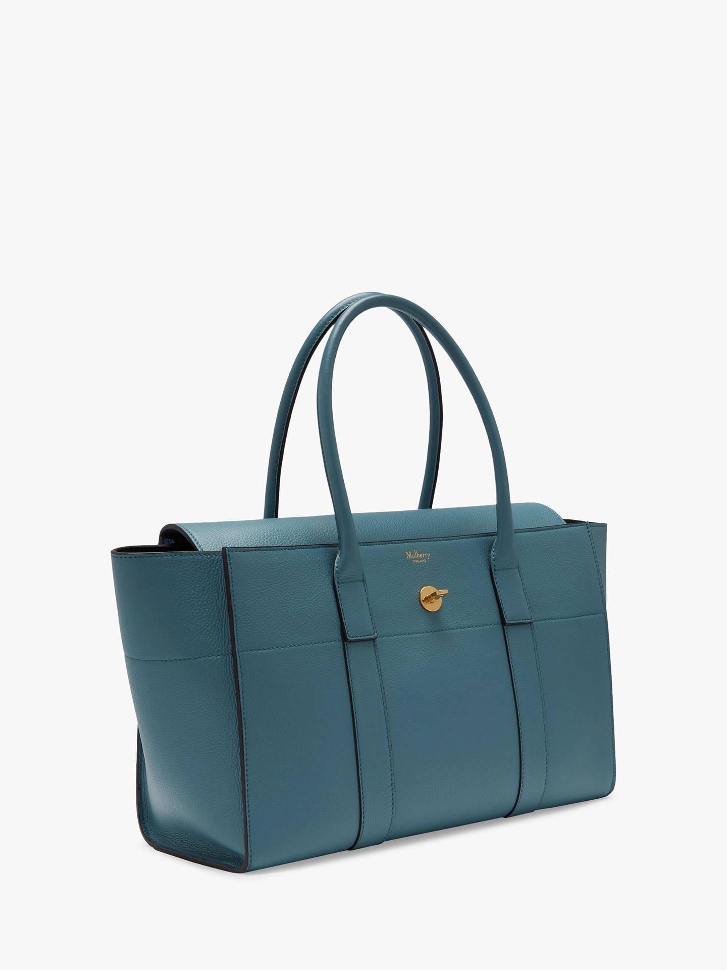 e9311f706295 Mulberry Bayswater New Small Classic Grain Leather Handbag at John ...