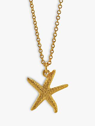 d5792ad1ad2ef3 Alex Monroe Starfish Pendant Necklace