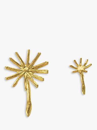 2e085ebfe Alex Monroe Dandelion Stud Earrings, Gold