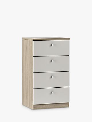 298a611b940 House by John Lewis Mix it Narrow 4 Drawer chest