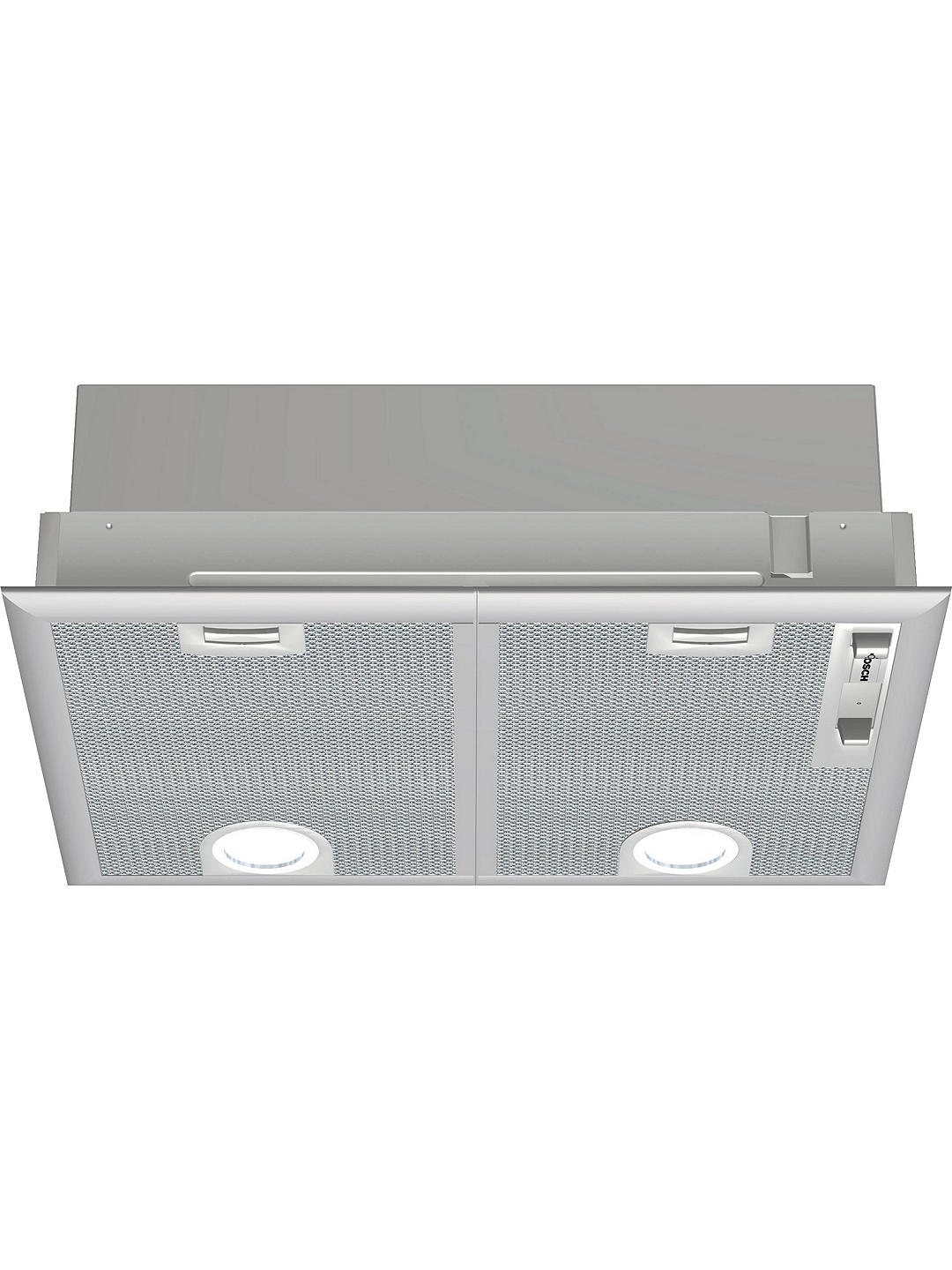 Buy Bosch DHL555BLGB Integrated Cooker Hood, Silver Metallic Online at johnlewis.com