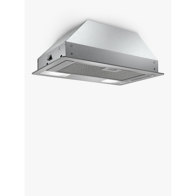 Image of Bosch DLN53AA70B 53cm Canopy Cooker Hood, D Energy Rating, Stainless Steel