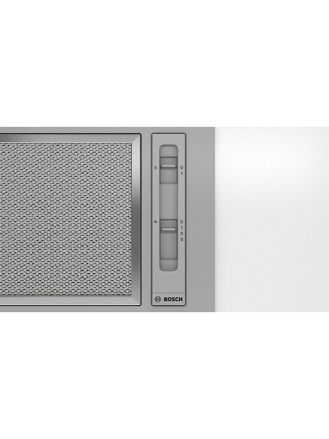 Buy Bosch DLN53AA70B 53cm Canopy Cooker Hood, D Energy Rating, Stainless Steel Online at johnlewis.com