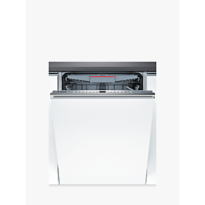 Bosch SBE46MX01G Integrated Dishwasher, A++ Energy Rating, Stainless Steel