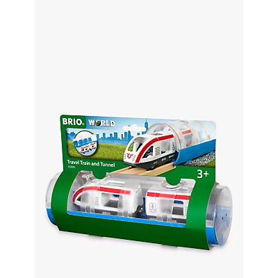 Brio World Travel Train and Tunnel